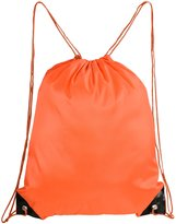 Mato & Hash Basic Drawstring Tote Cinch Sack Promotional Backpack Bag 5PK