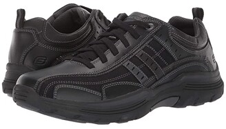 Skechers Relaxed Fit Expended - Manden (Charcoal) Men's Shoes