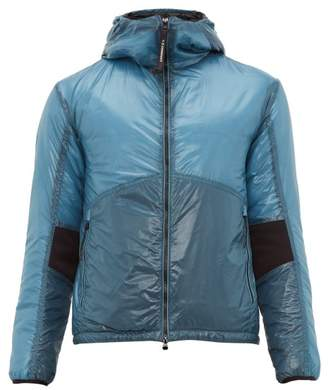 C.P. Company Outline Goggle Down Jacket - Mens - Blue