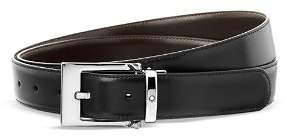 Montblanc Rectangular Shiny Wave Belt