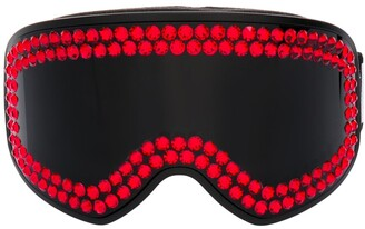 Philipp Plein Crystal Embellished Tinted Googles
