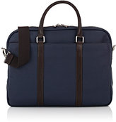Barneys New York MEN'S CONTRAST-TRIM BRIEFCASE-NAVY