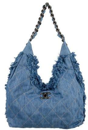 7de108f95 Chanel Denim Bag - ShopStyle