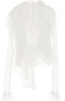 Rodarte Pearl Tiered Blouse