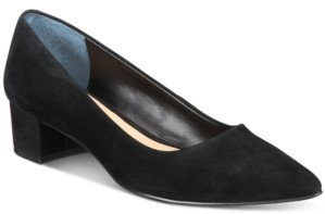Alfani Women's Step N' Flex Cashh Low Block-Heel Pumps, Created for Macy's Women's Shoes