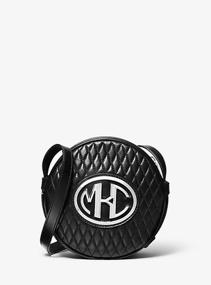 Michael Kors Monogramme Quilted Leather Canteen Crossbody Bag