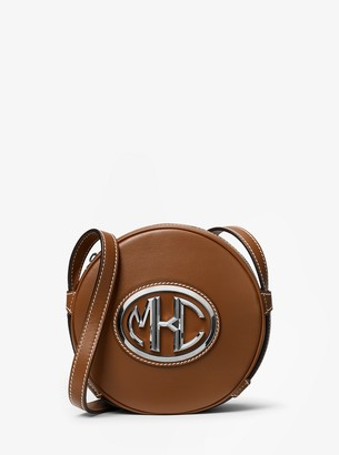 Michael Kors Monogramme Leather Canteen Crossbody Bag