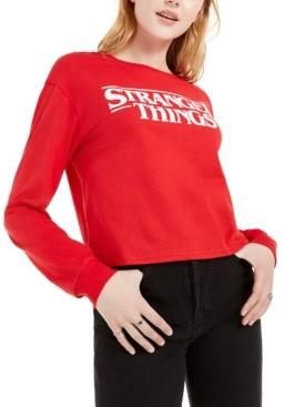 Hybrid Love Tribe Juniors' Stranger Things Long-Sleeve T-Shirt