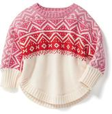 Old Navy Fair Isle Dolman-Sleeve Sweater for Baby