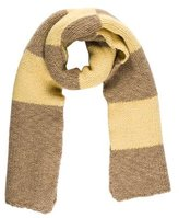 Dries Van Noten Wool Checkerboard Scarf