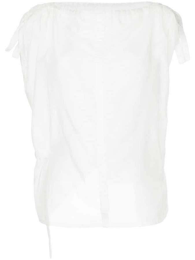 Taylor boat neck blouse
