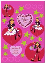 Freestyle 27 in. x 19 in. Fairy Wall Decal