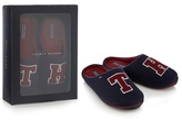 Navy 'tommy Hilfiger' Slippers In Gift Box