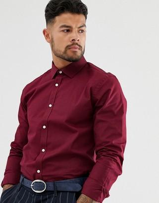 Harry Brown slim fit poplin shirt