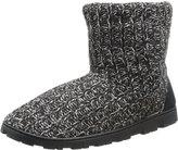 Muk Luks Women's Knit Lug Marl Chukka Boot