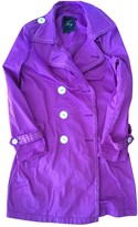 Fay Purple Trench Coat for Women