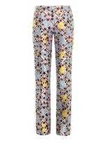 Mary Katrantzou Safari Forget Me Not jacquard trousers