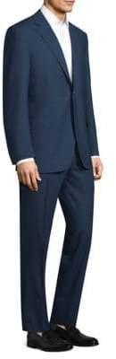 Canali Double-Stripe Wool Suit