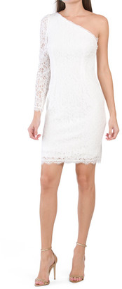 Lace Mini Cocktail Dress