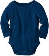 Hanna Andersson Navy Grow With Me Organic Cotton Bodysuit