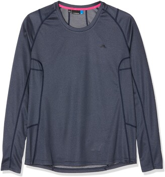 J. Lindeberg Women's W Active Ls Elements Sports Jumper