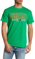 Original Retro Brand Miami Hurricanes Basketball Tee