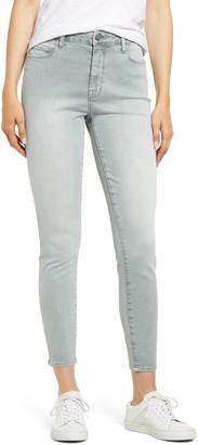 WASH LAB High Waist Skinny Jeans