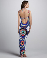 Mara Hoffman Pow Open-Back Maxi Dress