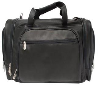 Piel Leather Multi-Compartment Duffel Bag