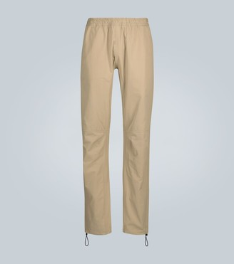 Bottega Veneta Casual paneled cotton trousers