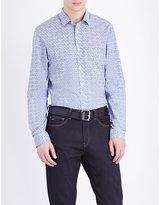 Michael Kors Jackman Slim-fit Cotton Shirt