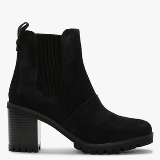UGG Hazel Black Suede Chelsea Boots
