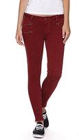 Bullhead Denim Co Zip Front Colored Skinniest Jeans