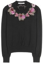 Givenchy Embroidered Wool Sweater
