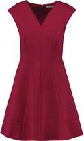 Halston Jersey mini dress