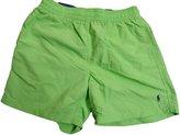 Polo Ralph Lauren Men's Pony Logo Swim Trunks Shorts (M, Nant Lime)