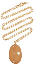 Cvc Stones Dear 18K Gold, Diamond And Stone Necklace