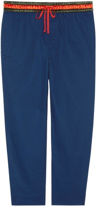 Gucci Cotton trousers with Band