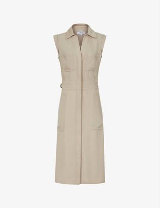 Reiss Effie woven midi dress