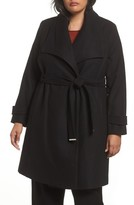 Dorothy Perkins Plus Size Women's Belted Wrap Coat