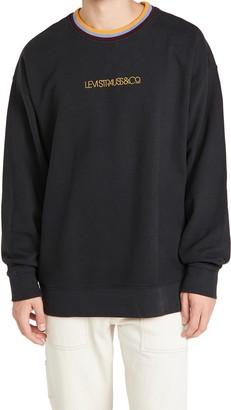 Levi's Oversized Crew Neck Sweatshirt