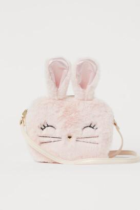 H&M Faux fur shoulder bag - Pink