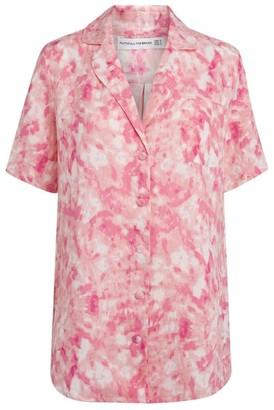 Faithfull The Brand Tie-Dye Charlita Shirt Dress