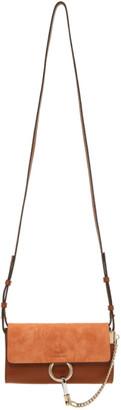 Chloé Brown Faye Wallet Bag