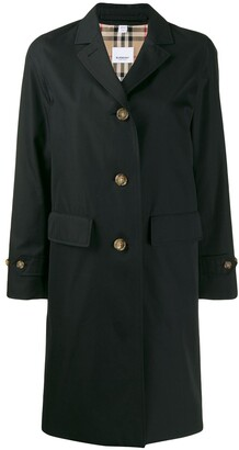 Burberry Gabardine Car Coat