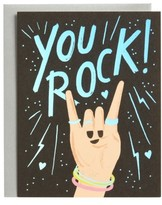 Rifle Paper Co. You Rock Set Of 8 Note Cards - Black