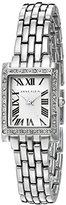 Anne Klein Women's AK/2293WTSV Swarovski Crystal Accented Silver-Tone Bracelet Watch