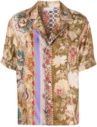 Pierre Louis Mascia Floral Print Shirt