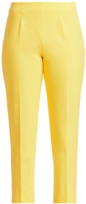 Piazza Sempione Audrey Stretch Cotton Cropped Pants
