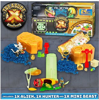 Treasure X Kings Gold Vs Alien Treasure Set